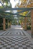 Przespacerowanie przez ogródów zdjęcia royalty free