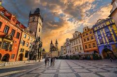 Przespacerowanie w Praga Obraz Stock