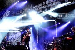 Przestój (zespół) wykonuje przy MBC Fest zdjęcia stock