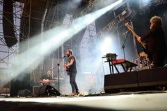 Przestój (zespół) wykonuje przy MBC Fest obrazy royalty free