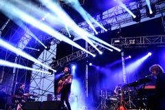Przestój (zespół) wykonuje przy MBC Fest obrazy stock