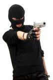 przestępcy czarny maska obraz stock