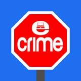 przestępstwa e znaka przerwa ilustracja wektor