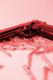 przestępstwo pistolet Obrazy Royalty Free