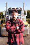 przestań ciężarówka. Zdjęcia Royalty Free