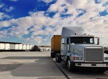 przestań ciężarówka. Obrazy Stock
