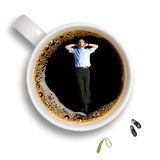 przestań kawy obrazy stock