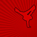 przestań 01 taniec Obraz Royalty Free