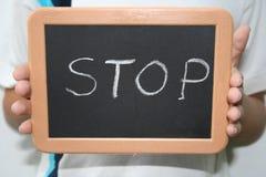 przestań Obrazy Stock