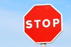 przestań Zdjęcie Stock