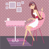 przestań herbaty. Obraz Royalty Free