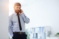 przestań nazywać kawowego telefonu trudne dni biuro czasu pracy Obrazy Royalty Free