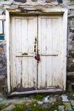 Przestarzały drzwi w Turcja Zdjęcia Stock