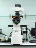 Przestawny mikroskop fotografia stock