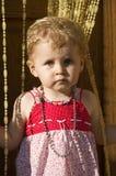 przestraszony dziecko Obraz Royalty Free