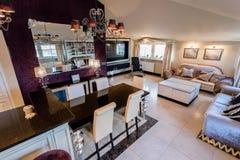 Przestronny dom w baroku stylu Fotografia Royalty Free