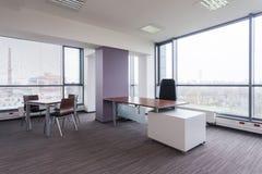 Przestronny nowożytny biuro zdjęcia stock