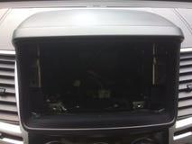 Przestrzeń dla przyczepienia Dla samochodowego radia obrazy stock