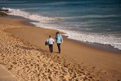 Przestrzeń na plaży Obraz Royalty Free