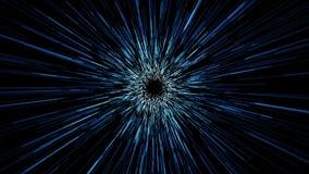 Przestrzeń wykłada tunel Podróż Kosmiczna Zdjęcia Royalty Free