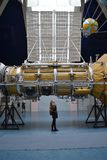 przestrzeń real rakieta Muzeum obrazy stock