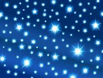 Przestrzeń z gwiazdami Zdjęcia Stock