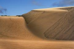 Przesuwanie się piaski Obrazy Stock