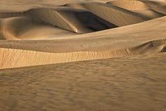 Przesuwanie się piaski Fotografia Royalty Free