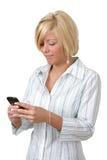 przesyłanie wiadomości tekst obrazy stock