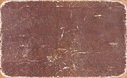 Przetarta książkowej pokrywy tekstura Obrazy Stock