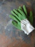 Przetarte Ogrodowe rękawiczki Zdjęcie Royalty Free
