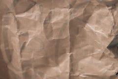 Przetwarza brown papieru miącą teksturę, stara papier powierzchnia dla tła obraz royalty free