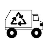 Przetwarza ciężarową ikonę ilustracji