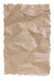 Przetwarza Kartonowego tekstura papier odizolowywającego na bielu Zdjęcie Royalty Free