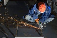 Przetwarzać metali produkty Zdjęcie Stock