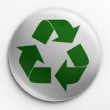 przetwarza odznaka logo Zdjęcie Royalty Free