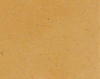 Przetwarza papierową brown teksturę Obrazy Stock