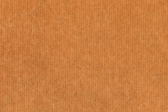 Przetwarza Pasiastą Kraft Brown papieru Grunge teksturę Zdjęcie Stock