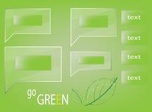 przetwarza się zielone Fotografia Stock