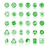 przetwarza symbole Fotografia Stock