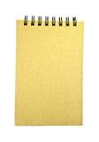 Przetwarzający papierowy notatnik Obraz Royalty Free