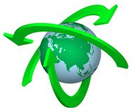 przetwarzanie ziemi ilustracji