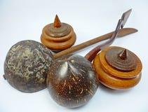 Przewaga Kokosowe skorupy zdjęcie royalty free
