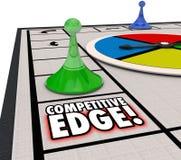 Przewaga Nad Konkurentami gry planszowa przewagi Wygrany sukces ilustracja wektor