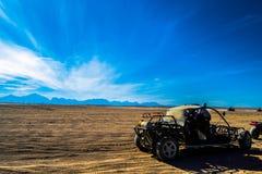 Przewaga w pustyni zdjęcia royalty free
