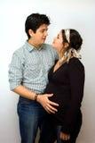 przewidywany rodziców Fotografia Stock