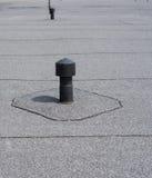 Przewietrznik - płaskiego dachu wentylacja zdjęcie royalty free