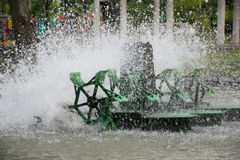 Przewietrznik turbina Zdjęcie Stock