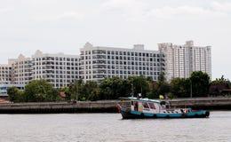 Przewieziona łódź Zdjęcia Royalty Free