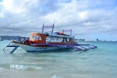 Przewieziona łódź Zdjęcie Stock